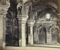 Tanjore Palace. Disused Council Chamber.